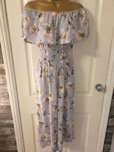 Floral Jumpsuit size 10 vgc