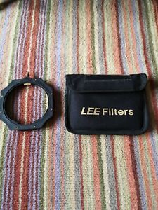 LEE Filters filter holder with 58 & 72mm adapter rings