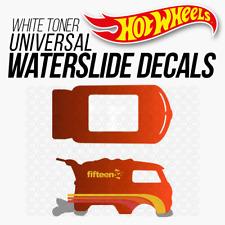 Hot Wheels KOOL KOMBI FIFTEEN 52 White Toner Universal WaterSlide Decal 1/64