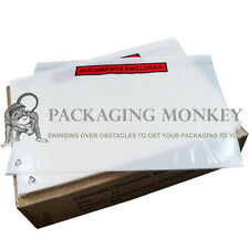 2000 x A4 Printed Document Enclosed Wallets Envelopes C4