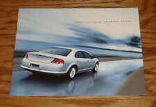 Original 2004 Chrysler Sebring Sedan Sales Brochure 04