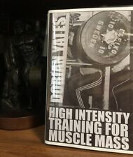 Powerlifting Bodybuilding Dorian Yates Mr Olympia Mass Training New Booklet 2019