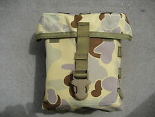 2-Pack Large CrossFire Army Waterproof Belt Utility Pouch Pocket Hunting Fishing