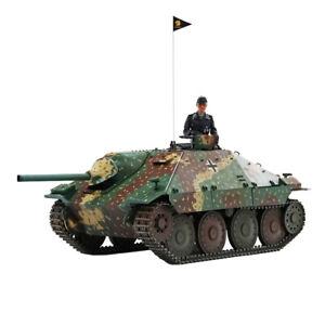 HOOBEN 1/10 RTR German Hetzer Jagdpanzer Master Painting Light Army Battle Tank
