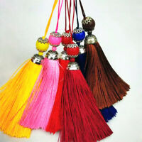 10pcs Silky Tassels Key Cushion Earring Decorative Tassels Costume Sewing Crafts