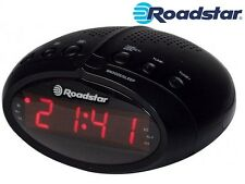 """RADIO SVEGLIA DIGITALE PLL FM """" ROADSTAR  CLR-2466N/BK """""""