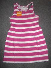 Gymboree Fuchsia Striped Tank Dress Size Med 7/8