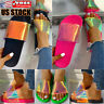 Womens Sequins Slip On Sandals Slippers Ladies Summer Casual Beach Sliders Shoes