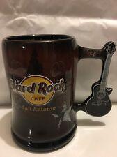 Hard Rock Cafe San Antonio Large Coffee Mug Guitar Handle 3D  Cup.(TC99)