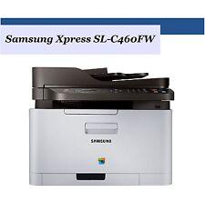 Samsung Xpress SL-C460FW Multifunktion-Farblaserdrucker Kopierer Fax WLAN NFC a