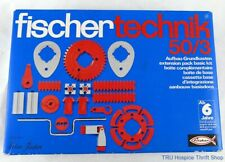 Fischertechnik 50/3 Extension Pack Basic Kit Made in Germany for ages 6 and up