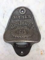 JACK DANIELS cast  iron rustic vintage  beer bottle opener antique style