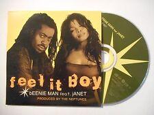 BEENIE MAN (feat Janet) : FEEL IT BOY ♦ CD SINGLE PORT GRATUIT ♦
