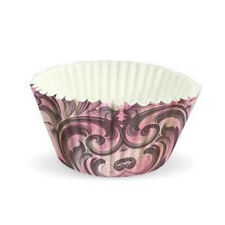 2 x 60pk koffers Eddington groot bakvorm taart cupcake muffin koffer roze rococo