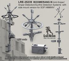 Live Resin 35239 1/35 Boomerang III Anti-Sniper/Gunfire Detection Systems (2)