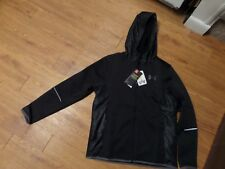 New Under Armour Boys' Storm 1 ColdGear Jacket  Black-size ylg-loose fit-$99