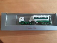 Herpa 162487  MB SK 88 Wülfrather Baustoffe Silo Sattelzug neuwertig mit OVP