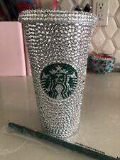 Starbucks Rhinestone Bling Cup Tumbler