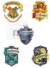 HARRY POTTER HOUSE LOGOS PRINTED EDIBLE ICING CAKE DECORATION TOPPERS
