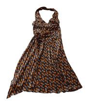 Miu Miu Vintage AW00 Ad Campaign Floral Silk Dress IT44/UK12