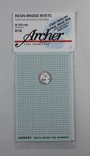 Archer HO-Scale (1/87) Resin Bridge Rivets (common to Steel Bridges) AR88052