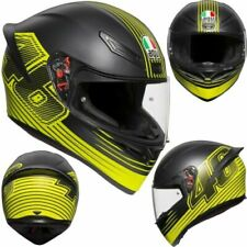 CASCO INTEGRALE AGV K-1 TOP EDGE46 YELLOW / BLACK TAGLIA L 60 CM