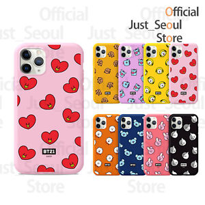 100% Authentic BTS BT21 Color Jelly Phone Case Cover+Freebie+Tracking Official