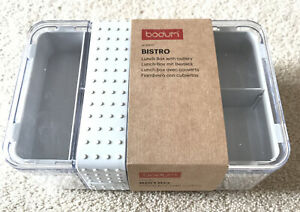 Brand New Bodum Bistro LUNCH BOX with Cutlery - Unwanted Gift