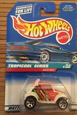 Hot Wheels Tropicool Series 2 Of 4 Cars #694 Baja Bug Rare Silver Base