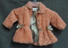 Nannett infant girls jacket size 12 months dressy pink comfy