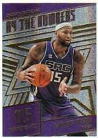 2016-17 Panini Revolution By the Numbers #20 DeMarcus Cousins Sac Kings