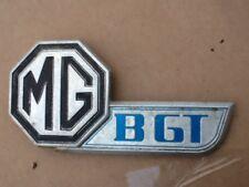 Mgb gt boot lid badge rubber bumper models