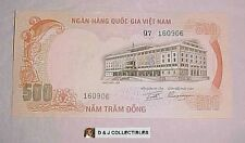 SOUTH VIETNAM 1972 , 500 DONG NOTE  UNC CONDITION