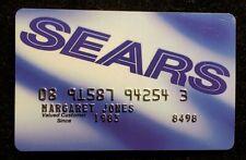 Sears credit card♡free ship♡cc1178♡