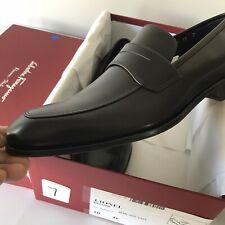 Salvatore Ferragamo New $740 Leather Loafers Shoes 10 D