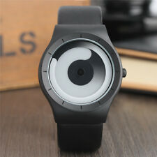 New Concept Watches Minimalist Style Spiral Turntable Novel Stylish Wristwatch