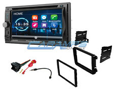 NEW POWER ACOUSTIK STEREO RADIO AUX/USB BLUETOOTH INSTALL KIT FOR VOLKSWAGEN