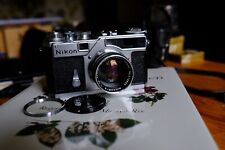 Nikon SP Rangefinder fitted with Nikkor-S f=5cm 1:1.4 standard lens