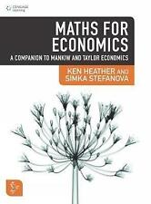 Maths for Economics: A Companion to Mankiw and Taylor Economics: A Companion...