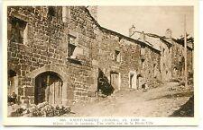 CP 07 - Ardèche - Saint-Agrève - Une vieille rue de la Haute-Ville