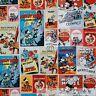 BonEful FABRIC FQ Cotton Quilt B&W Mickey Mouse Kid Disney Comic Patchwork Retro