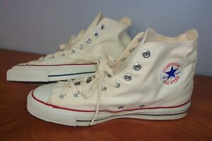 Vintage Converse Chuck Taylor All Star Blue Label Hi-Top Sneakers 11 ~NEW~ USA
