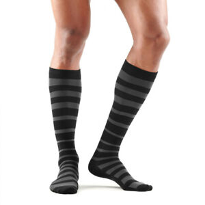 Skins Mens Recovery Compression Socks Black Grey Sports Running Gym Breathable