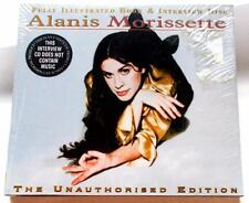 Alanis Morissette The Unauthorised Edition 95 Interview CD & Book Factory Sealed
