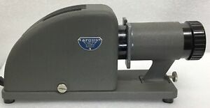 Vintage Argus Slide Projector 4 Inch Lens with case and Airequipt Slide Changer