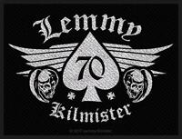 OFFICIAL LICENSED - LEMMY - 70 SEW ON PATCH METAL MOTORHEAD