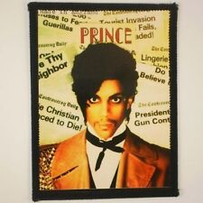 Prince patch Controversy vintage 1981 sew on glossy patch NEW UNUSED MINT