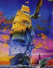 Jigsaw puzzle Maritime Nautical Red Sky at Night 1000 piece NEW