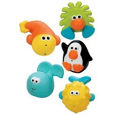 Sassy Bathtime Pals Squirt & Float 5-Pieces