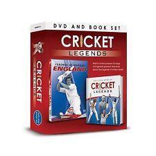 CRICKET LEGENDS ENGLAND DVD & THE LITTLE BOOK OF CRICKET LEGENDS BOX SET